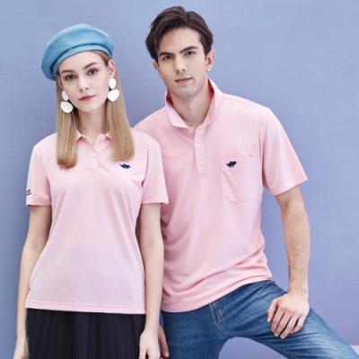 Londa POLO吸濕排汗女版短袖POLO衫(P217206粉紅色)