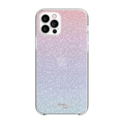【kate spade】iPhone 12 Pro Max 手機保護殼/套-漸層紫