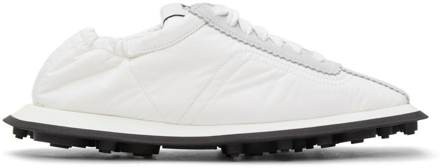 MM6 Maison Margiela 白色 & 灰色 6 Racer 运动鞋