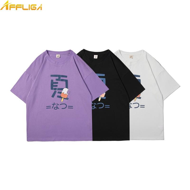 超可愛文字印花短袖T恤 夏季 高磅數 韓版時尚學院風學生短袖T恤 男生短袖T恤 大尺碼潮流百搭短袖衣服 男生衣著
