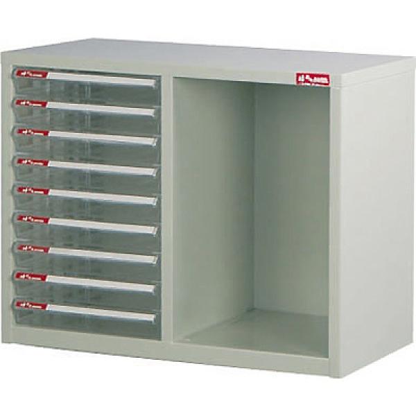 SHUTER 樹德 A4-B209桌上二排型資料櫃(透明抽)