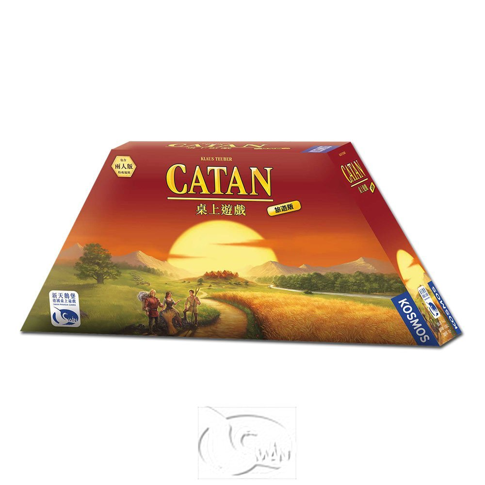 【新天鵝堡桌遊】卡坦島旅遊版 Catan Compact -中文版