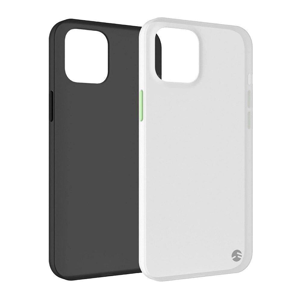 【SwitchEasy 美國魚骨】Apple iPhone 12 Pro Max (6.7吋) 0.35 超薄裸機霧面手機保護殼(支援MagSafe)