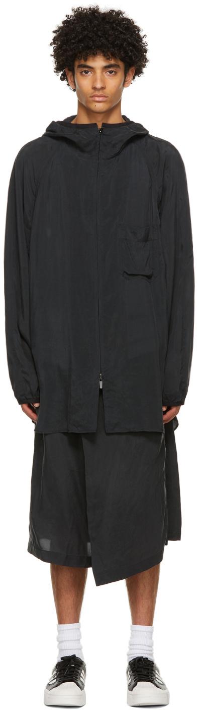 Y-3 黑色 Sanded CH3 连帽衫