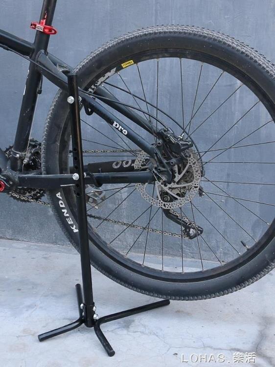 山地公路自行車支架停車架掛架子室內站架立式展示架單修車維修架