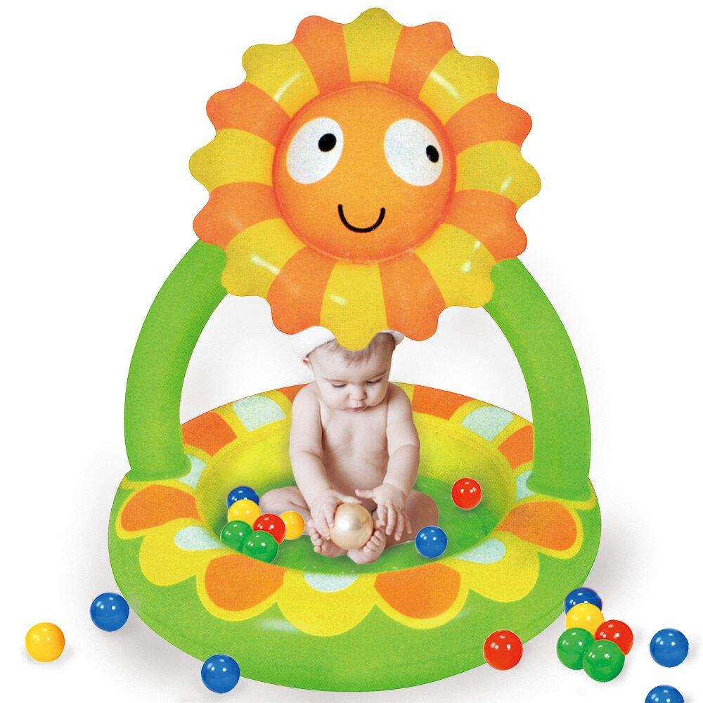 寶貝樂 小花嬰兒充氣水池/游泳池(BTSPMB02-100)「618購物節」
