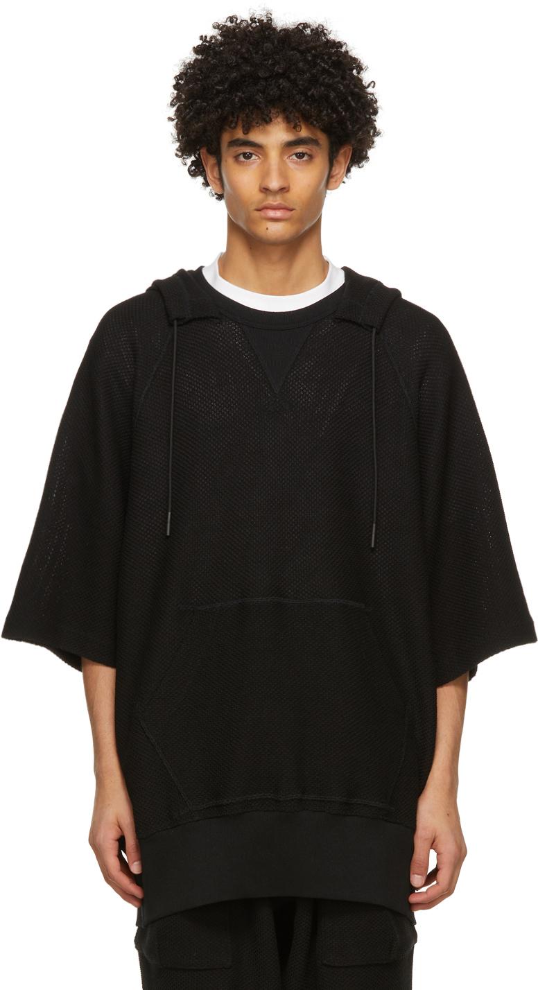 Y-3 黑色 CH3 连帽衫