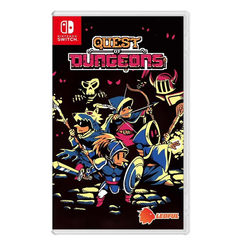 任天堂 NS Switch 地下城探險 Quest of Dungeons (雙封面) 亞洲英文實體版【預購4/23】