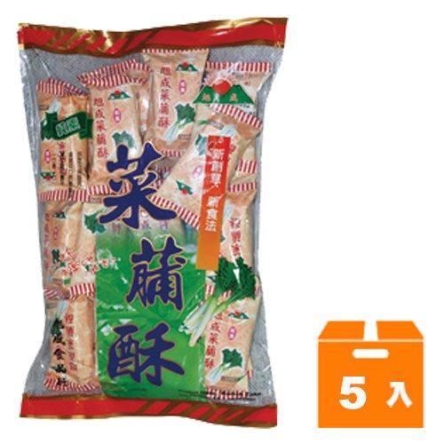 旭成 菜脯酥 396g (5入)/箱