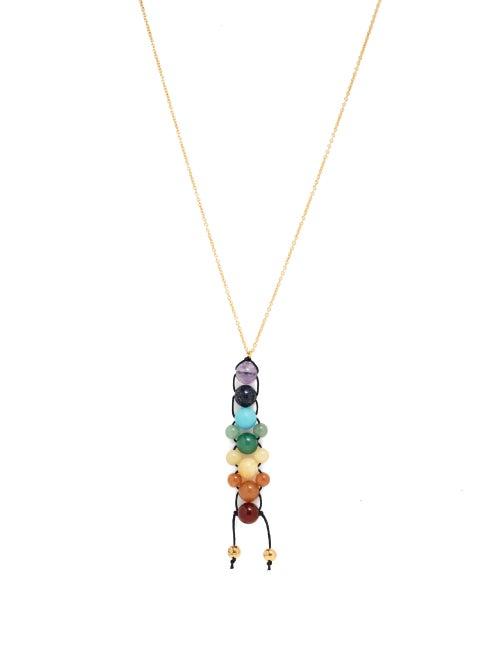 Loewe Paula's Ibiza - Chakras Beaded Necklace - Womens - Multi