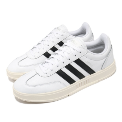 adidas 休閒鞋 Gradas 運動 男鞋 愛迪達 基本款 簡約 舒適 穿搭 白 黑 FW9362
