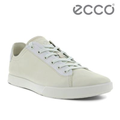 ECCO COLLIN 2.0 時尚單色休閒鞋 男鞋 白色