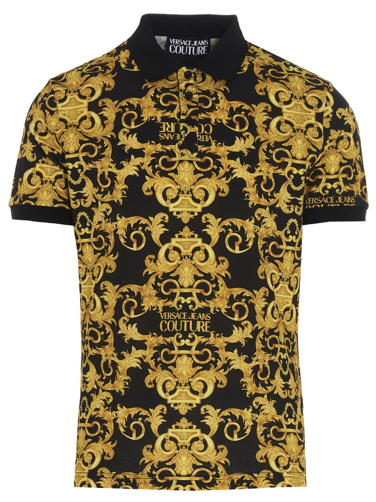 Versace Jeans Couture barocco Polo