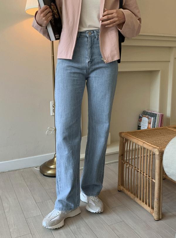 韓國空運 - Normal denim pants 牛仔褲