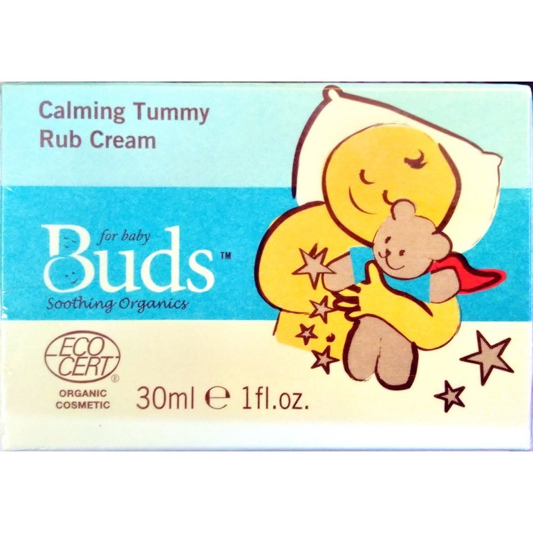 buds芽芽 日安系列舒緩按摩霜(30ml/瓶)(脹氣霜)