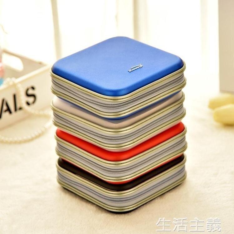 CD收納盒 大容量光盤收納盒CD包40片光碟包176E40光盤包DVD包汽車CD盒【簡約家】