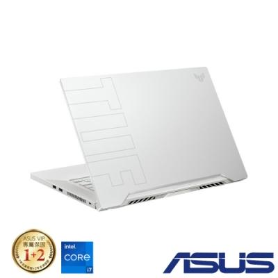 ASUS FX516PM 15吋電競筆電 (i7-11370H/RTX3060/8G/512G SSD/TUF DashF15/星耀白)