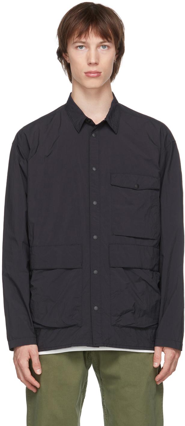 Gramicci 黑色 Utility 可收纳式衬衫