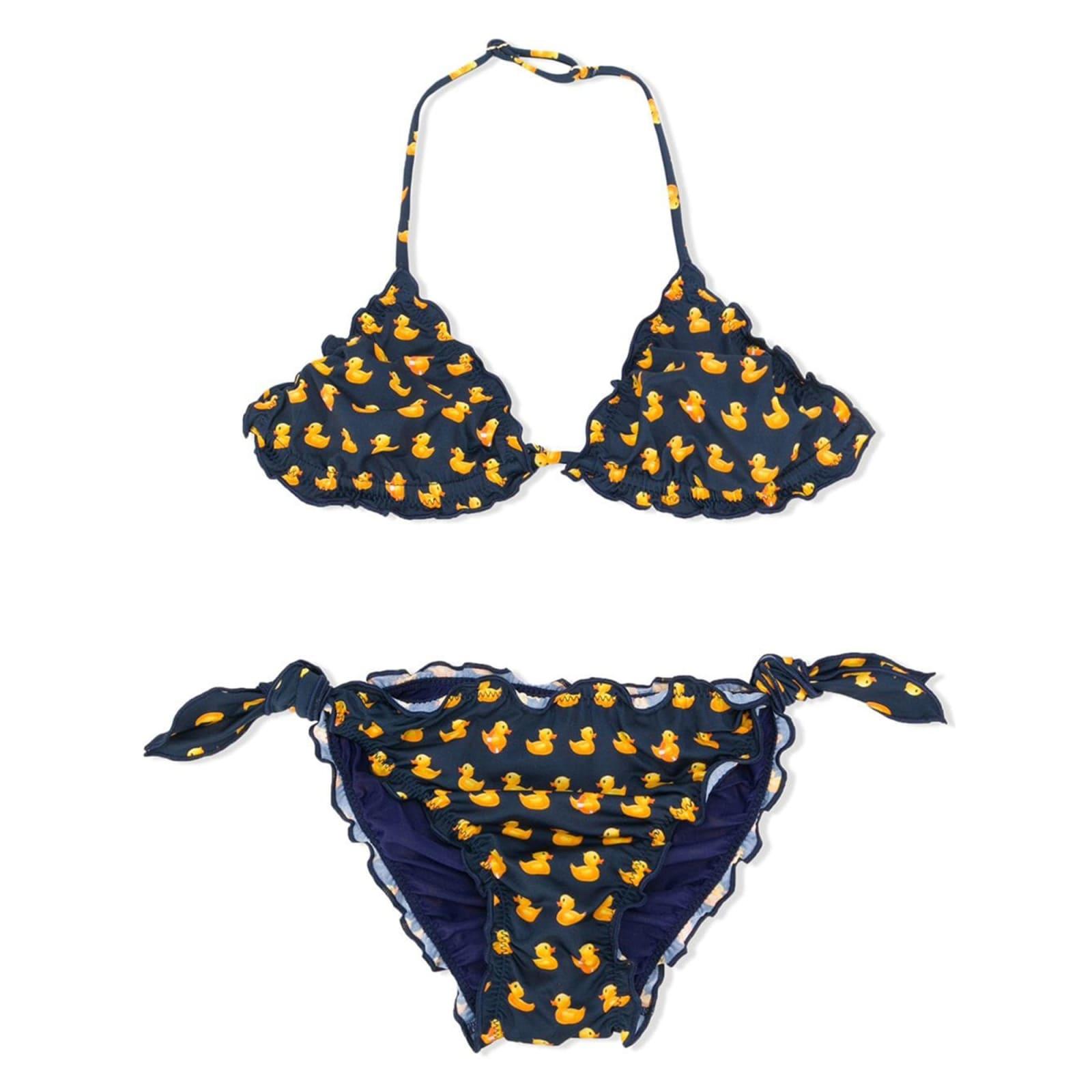 Ducky Printed Girls Bikini