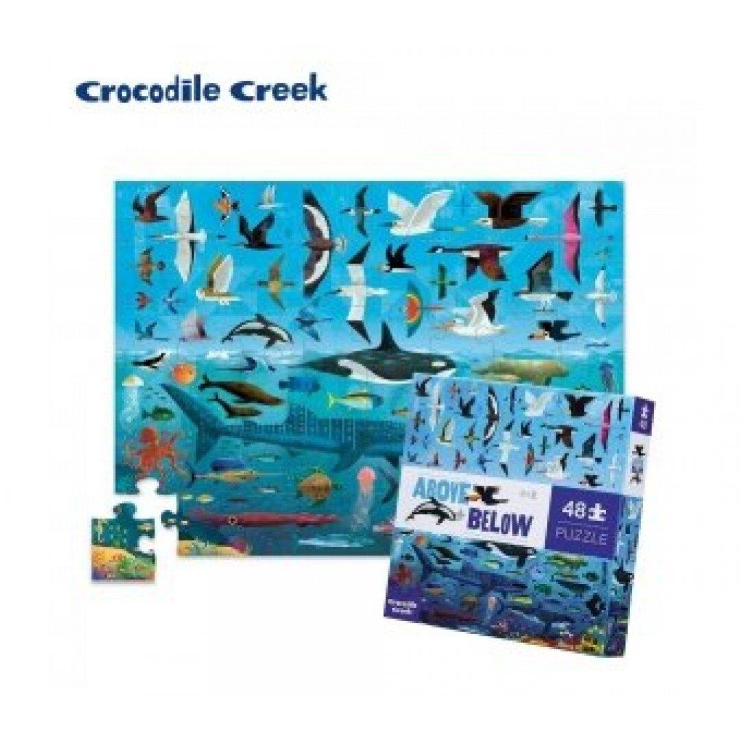 《美國 Crocodile Creek》探索主題拼圖-探索海洋天空 東喬精品百貨