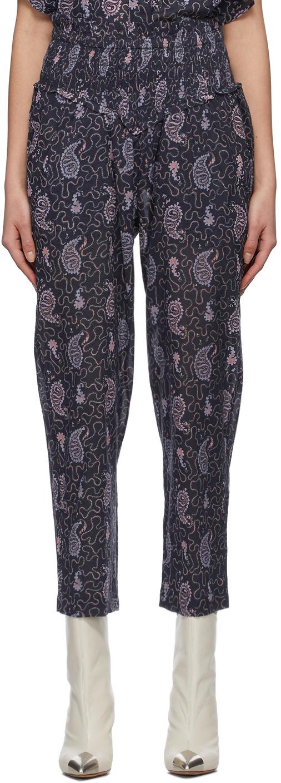 Isabel Marant Etoile 紫色 Alikly 长裤
