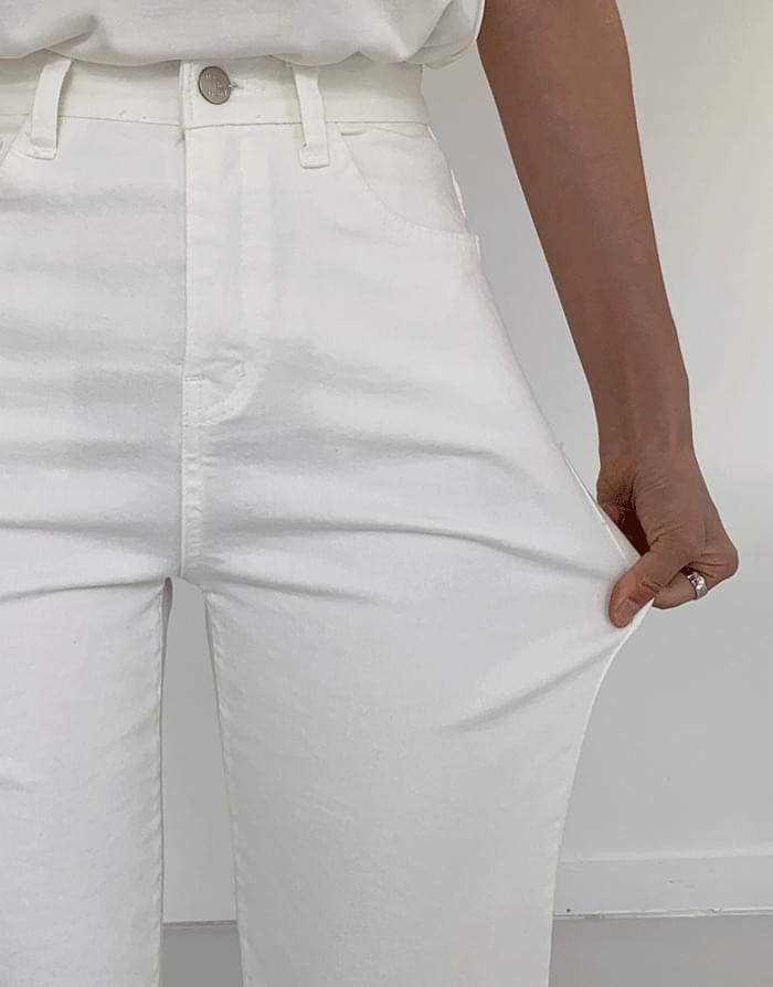 韓國空運 - Cotton Spandex Wide Pants 長褲