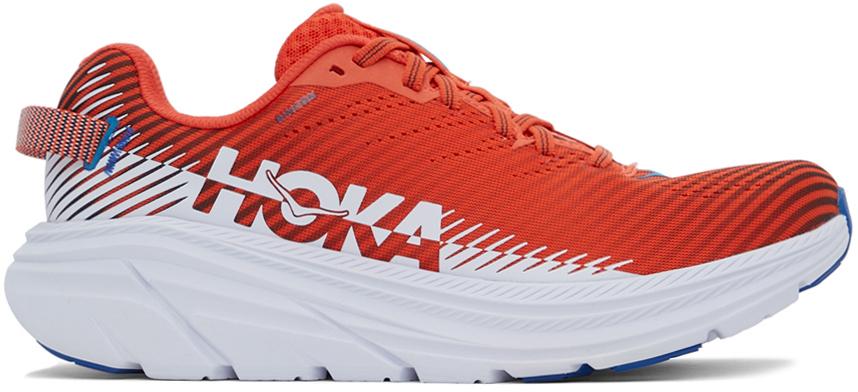 Hoka One One 红色 Rincon 2 运动鞋