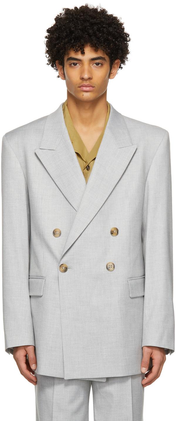 Han Kjobenhavn 灰色 Boxy Suit 西装外套