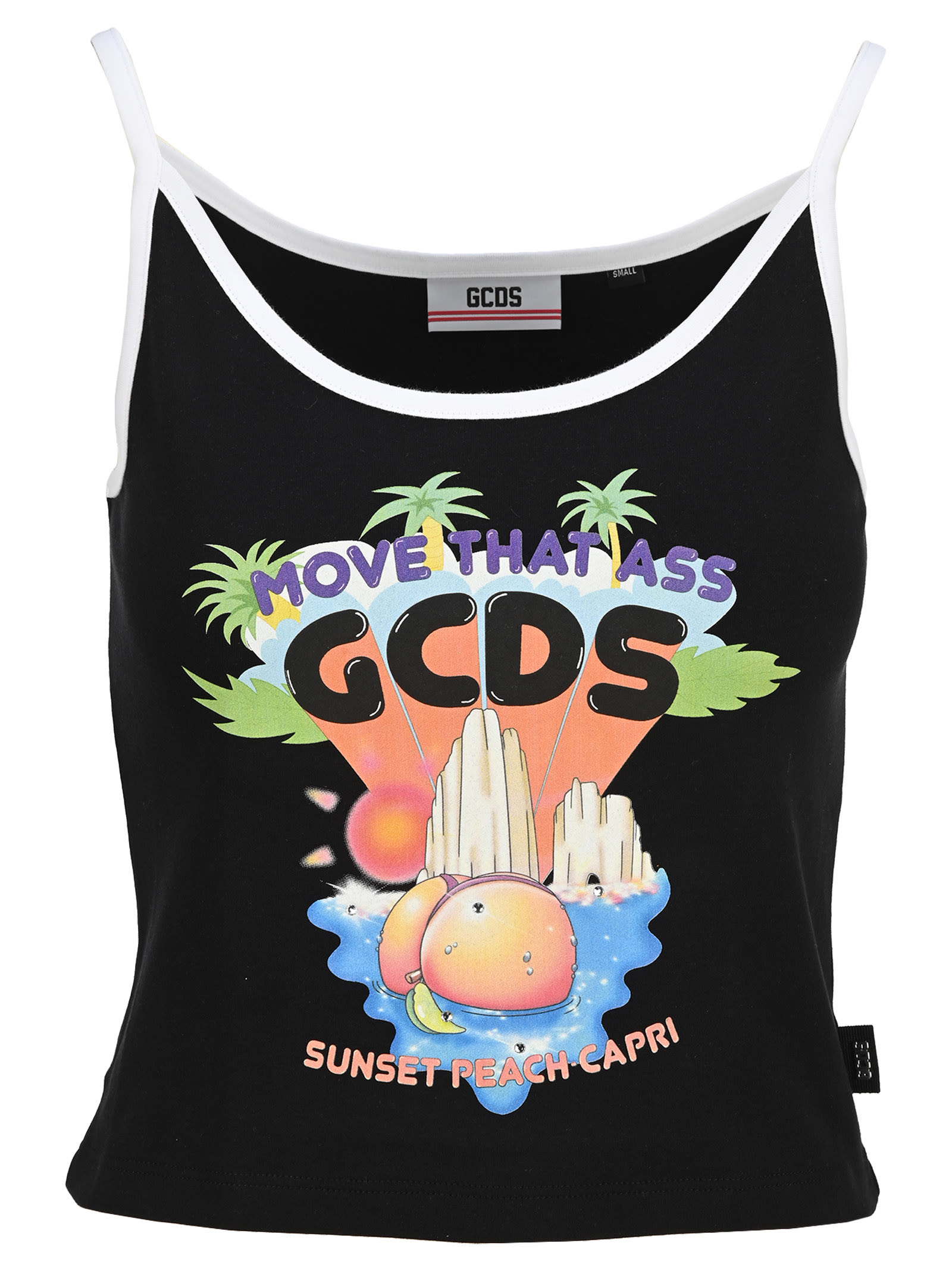 Gcds Printed Top Top