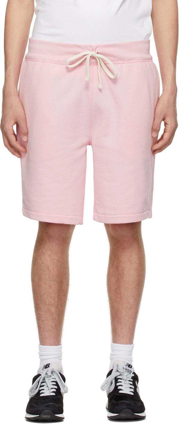 Polo Ralph Lauren 粉色抽绳短裤