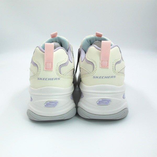 SKECHERS D'Lites4.0 老爹鞋 厚底 閃電 止滑 固特異底 米藍紫色 女生尺寸【149491NTMT】