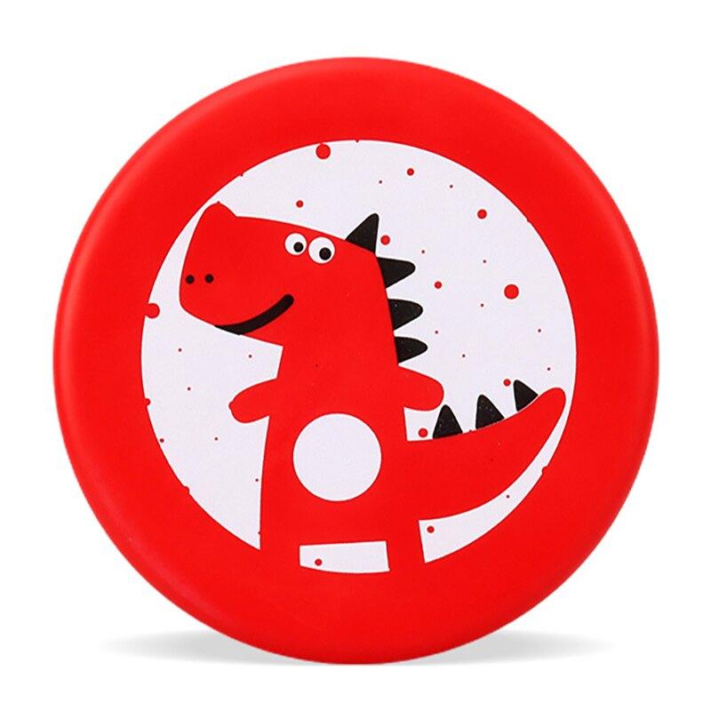 飛盤/飛碟 飛盤兒童軟安全幼兒園手拋卡通飛碟泡沫親子戶外運動玩具男女硅膠【益智玩具】【XXL5615】