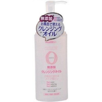 日本 熊野油脂 PharmaACT 無添加卸妝油165ml