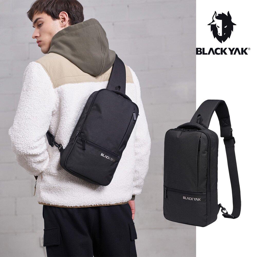 【BLACKYAK】城市休旅單肩背包 斜背包 後背包 [黑色] 休閒包 運動包  BYAB1NBD0395-F