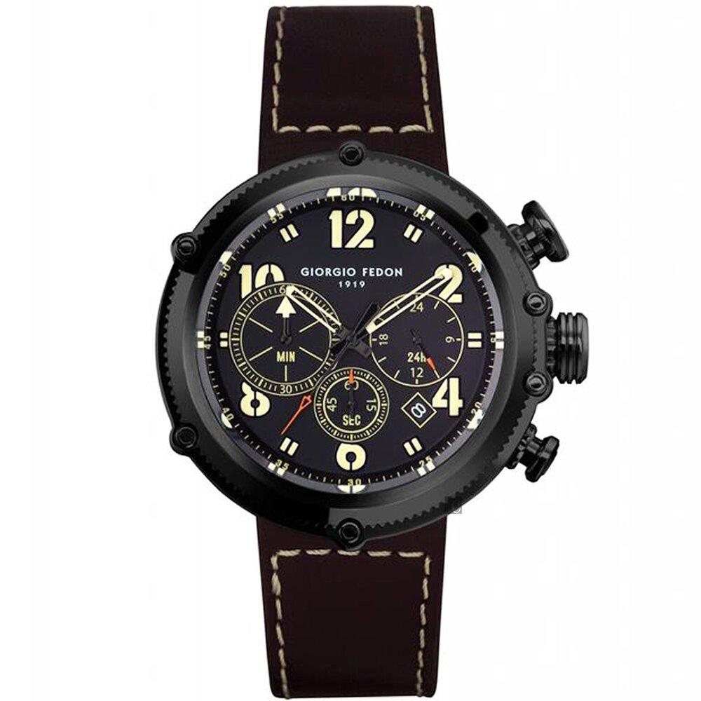 GIORGIO FEDON 1919 運動風計時手錶(GFBM003)-45mm