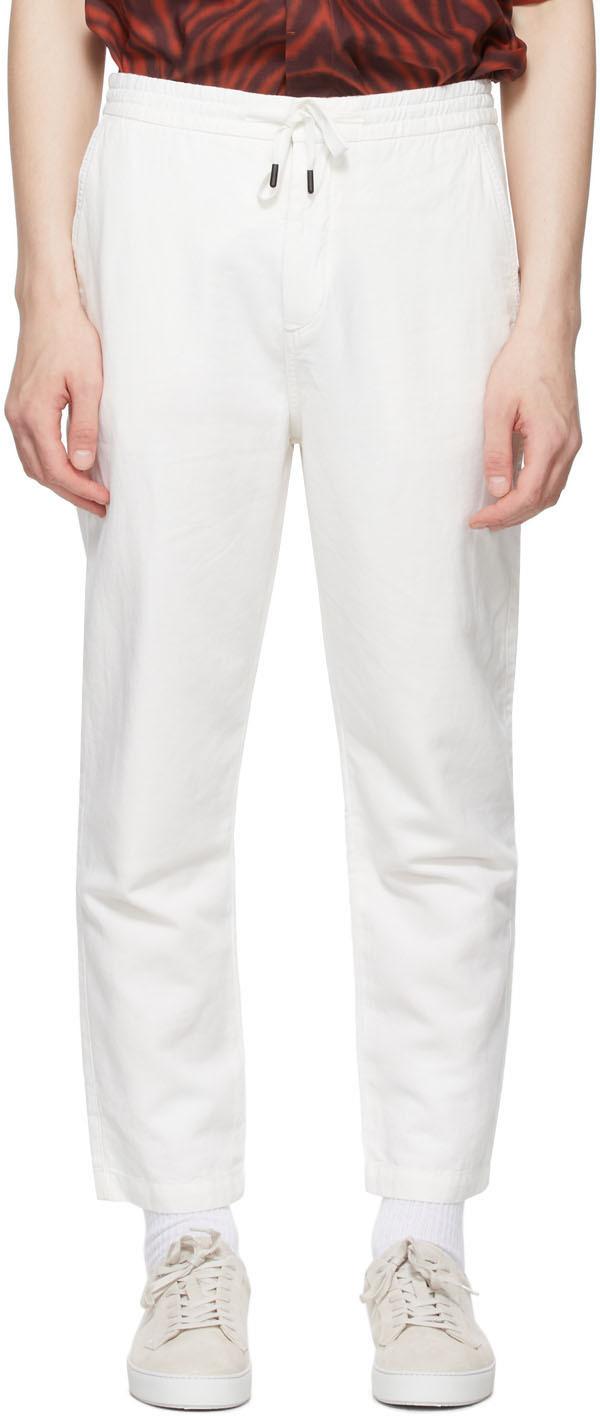 Tiger of Sweden 白色 Torin 长裤