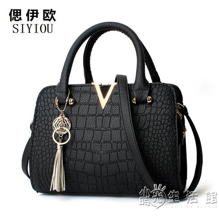 母親節禮物2021新款春季潮時尚手提包韓版女包媽媽包單肩斜挎包包