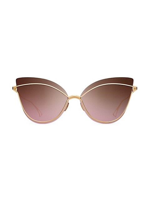 Nightbird One 66MM Cat-Eye Sunglasses