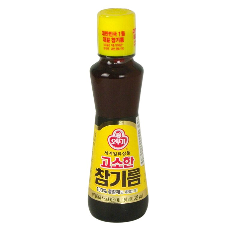 韓國不倒翁芝麻油160ml【韓購網】[AA00061]