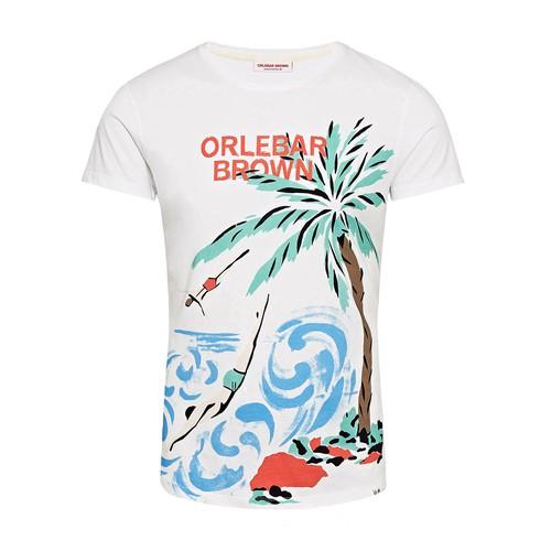 Ob-t Island Divers Divers Crew Neck T-Shirt