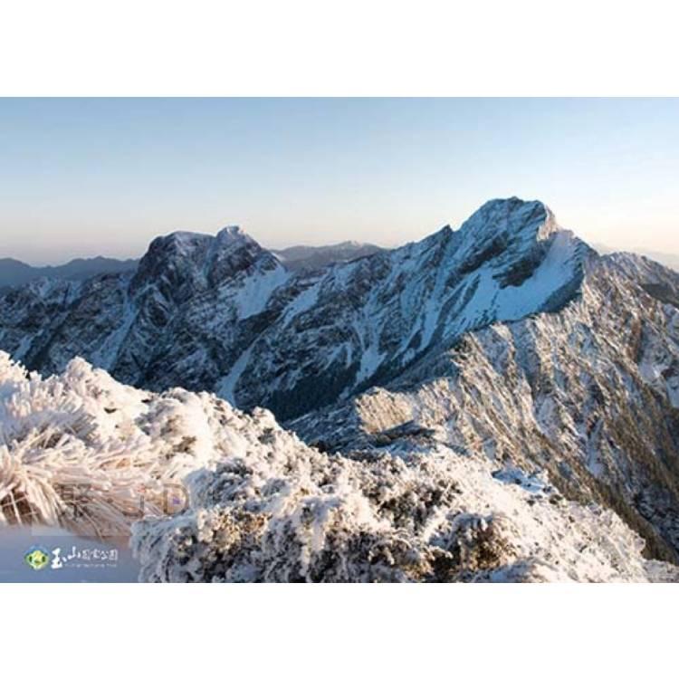 【P2拼圖】HPY0520-009 玉山風景系列 - 主東峰大雪夕陽 520 片盒裝拼圖