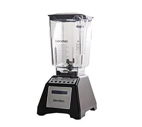 (整新品) Blendtec Total Classic Original Blender - WildSide plus Jar (90 oz) - Professional-Grade Black