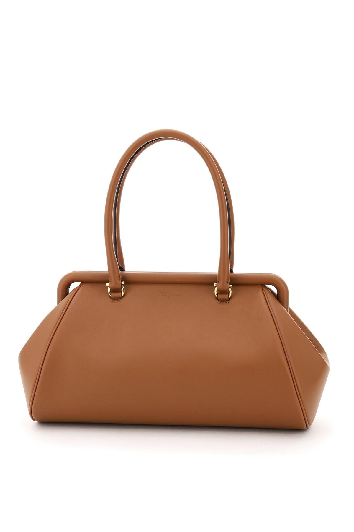 Salvatore Ferragamo Frame Shoulder Bag