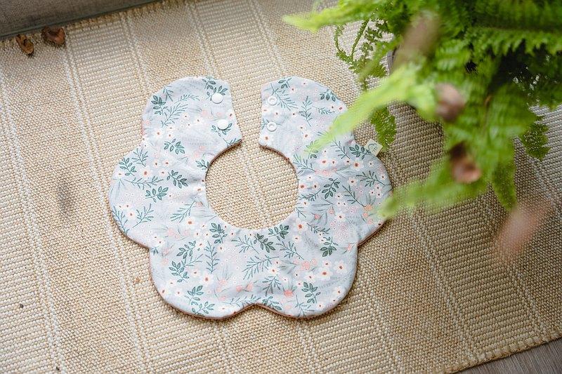 草本花園 寶寶圍兜兜 花兜 口水巾 圍兜兜