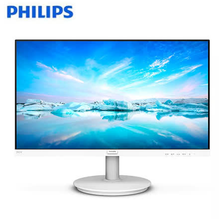 PHILIPS飛利浦 24型 IPS FHD螢幕241V8W