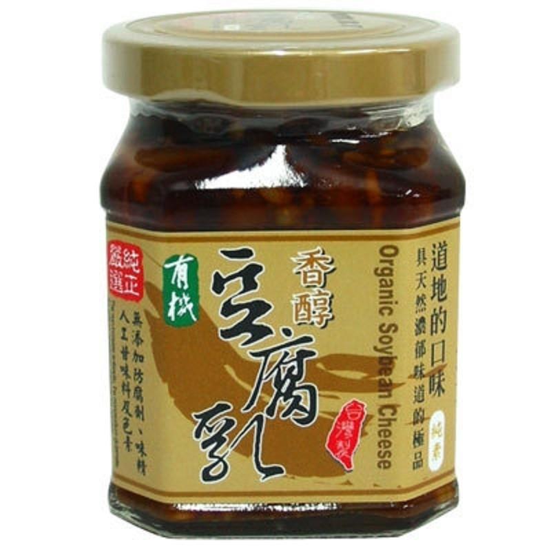 尚鴻~有機香醇豆腐乳220公克/罐