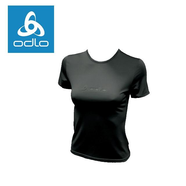 【瑞士ODLO】 女短袖T恤 320371 (黑15000)