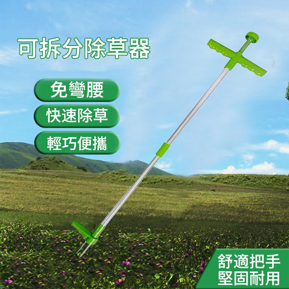 weed remover拔草器  免彎腰除雜草工具  挖野菜連根 起根器  移苗器 園藝工具