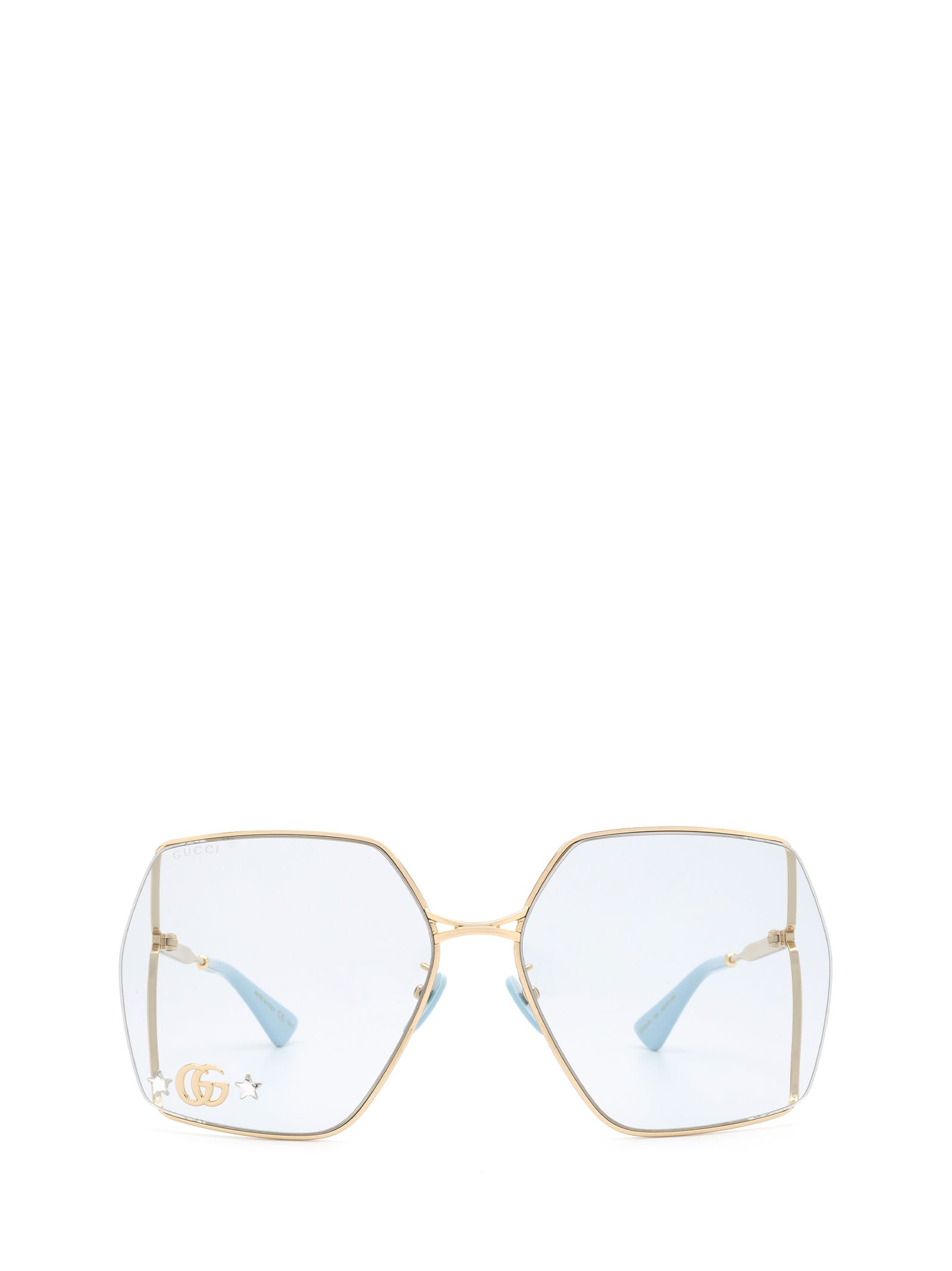 Gucci Gucci Gg0817s Gold Sunglasses