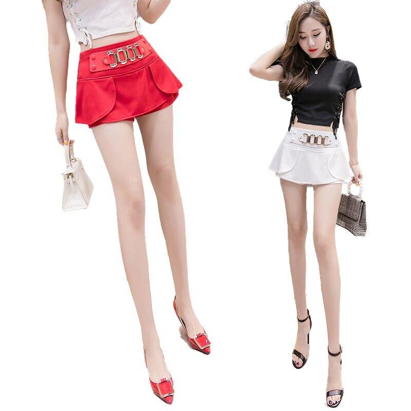 【防走光系列】一代防走光時尚包臀短裙(簡約金屬風)/S、M、L、XL、XXL